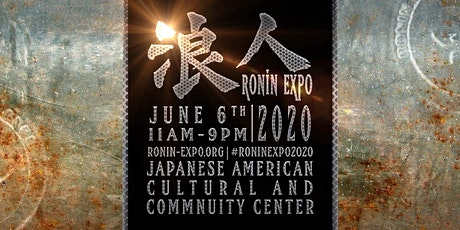 Ronin-Expo 2021 tickets