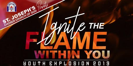 """Youth Explosion 2019 """"Ignite The Fire Within You!"""" tickets"""