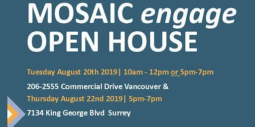 Open House- MOSAIC engage English Classes Surrey