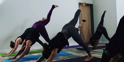 Gallery Night Community Yoga Class