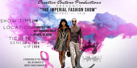 See some of the coolest Designers in Atlanta! Fashion/Fundraiser Show tickets