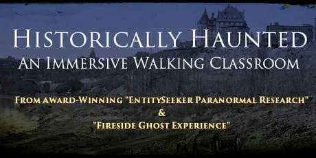 HISTORICALLY HAUNTED: An Immersive Walking Classroom tickets