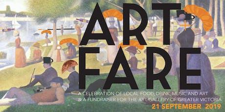 Art+Fare 5 tickets