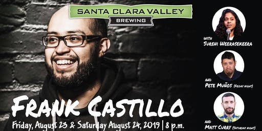 SCVB Comedy Night: Frank Anthony Castillo pt2 (Album Recording)