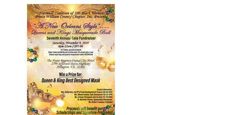 NCBW-PWCC 7TH ANNUAL GALA_A NEW ORLEANS STYLE QUEENS AND KINGS MASQUERADE tickets