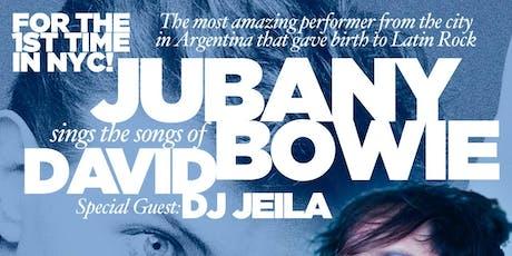 David Bowie tribute tickets