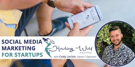 Social Media Marketing for Startups tickets