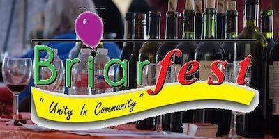 Saturday - Sept 7 - 3:00pm 2019 Briarfest Wine Tasting