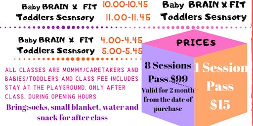 Babies Brain X Fit Evening Sessions