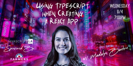 Using Typescript when Creating a React App w/ Madalyn Baehre tickets