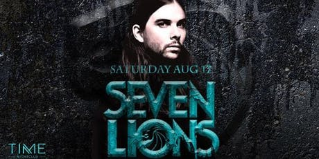 Seven Lions at TIME tickets