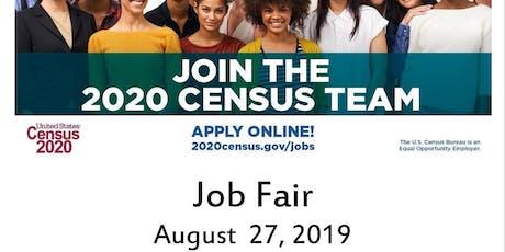 Job Fair   2020 Census  tickets