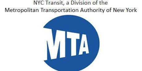 NYPL Career Talk! NYC Transit, a Division of the Metropolitan Transportation Authority of New York (MTA) tickets