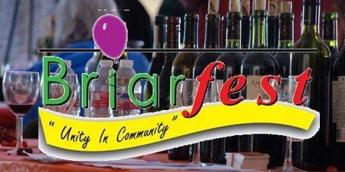 Sunday - Sept 8 -  2:00pm 2019 Briarfest Wine Tasting