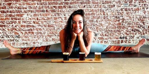 Yoga Flow & Beer at Oasis Brewing