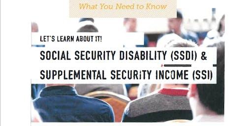 SSI/SSDI Workshop