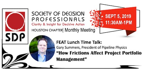 HOU Society of Decision Prof | Featuring Gary Summers tickets