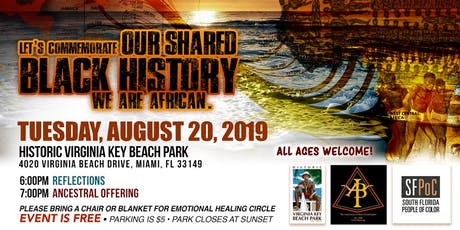 Honoring the Ancestors & Commemoration of 400 Years of Enslavement/Slavery tickets