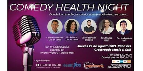 Comedy Health Night boletos
