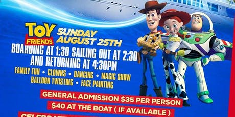 TOY STORY CHILDREN'S CRUISE PARTY :: 125TH ST PIERS :: BOAT KINGZ tickets