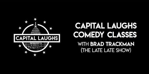 Capital Laughs Comedy Classes with Brad Trackman