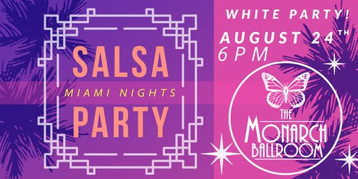SALSA PARTY (White Party)
