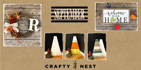 September 9th Public Workshop at The Crafty Nest (Northborough) tickets