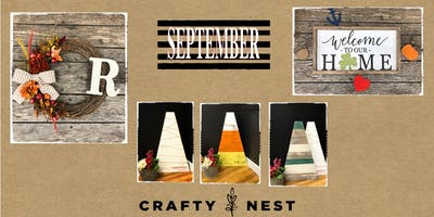 September 26th Public Workshop at The Crafty Nest (Whitinsville)