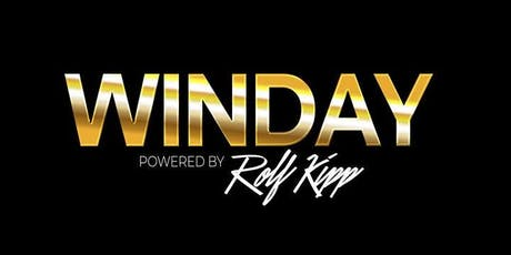 WINDAY POWERED BY ROLF KIPP RAUM FRANKFURT 24.08.2019 Tickets