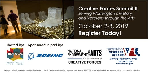 Creative Forces® Summit II: Serving WA Military & Veterans through the Arts