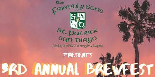 Friendly Sons of St. Patrick 3rd Annual Brew Fest