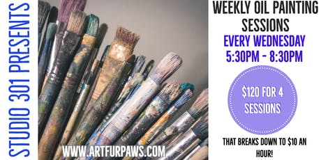 October Weekly Art Classes-Wednesday-Evenings tickets