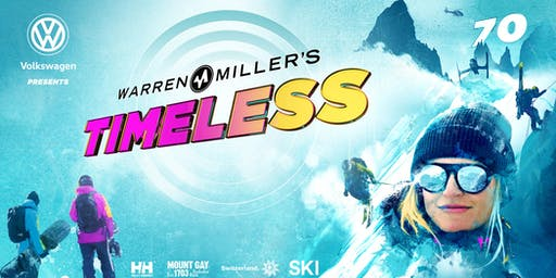 Volkswagen Presents Warren Miller's Timeless - Bellevue - Saturday 3:00 pm