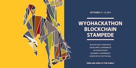 WyoHackathon Blockchain Stampede tickets