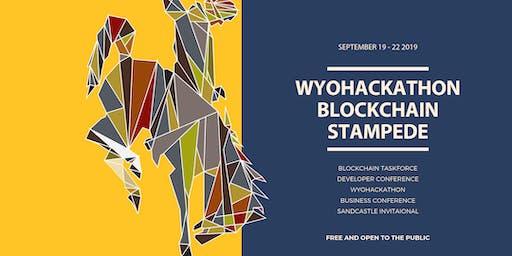 WyoHackathon Blockchain Stampede