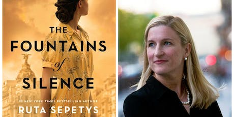 Ruta Sepetys: THE FOUNTAINS OF SILENCE Author Event tickets