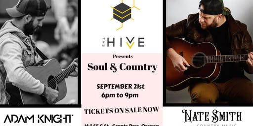 Soul & Country w/ Adam Knight and Nate Smith