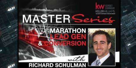 Marathon Lead Generation with Richard Schulman tickets