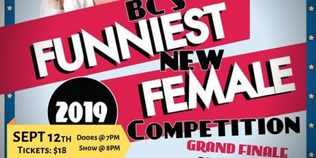 BC's Funniest NEW Female Competition (GRAND FINALE) tickets
