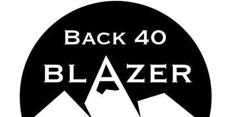 Back 40 Blazer Obstacle Course Race tickets