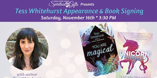 Tess Whitehurst Appearance & Book Signing