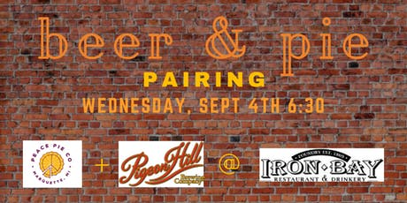 Pie & Beer Pairing tickets