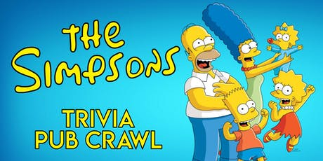 The Simpsons Trivia Pub Crawl - Downtown Houston - Jan. 18th tickets