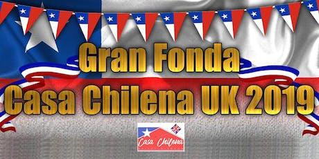 La Gran Fonda de Casa Chilena UK 2019 tickets