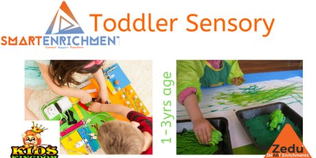 SMART ENRICHMENTS: Toddler Sensory  Learn & Play Session  1-3 Yrs  tickets