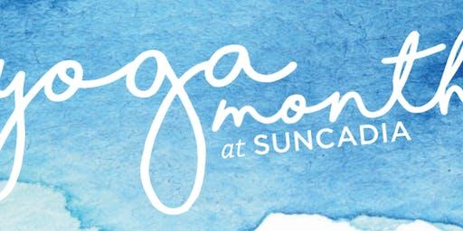 Yoga Month at Suncadia
