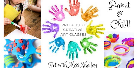 Preschool Art with Miss Shelley! Colorful Clay Bowls (Tues 11:15-11:45) tickets