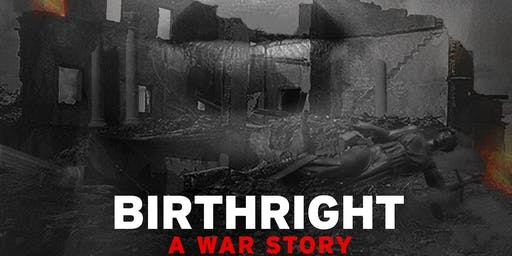 Human Rights Speakers Series - Birthright: A War Story