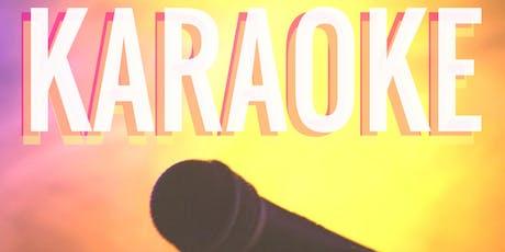 Karaoke every WEDNESDAY tickets