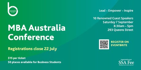 MBA Australia Conference tickets